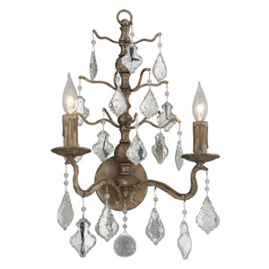 Siena Vienna Bronze Two-Light Wall Sconce