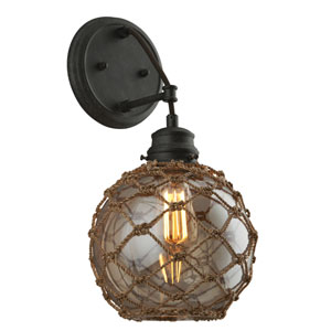 Outer Banks Shipyard Bronze One-Light Wall Sconce