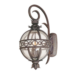 Campanile Campanile Bronze Two-Light Outdoor Wall Lantern