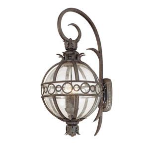 Campanile Campanile Bronze Four-Light Outdoor Wall Lantern