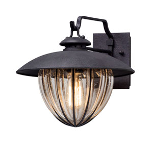Murphy Vintage Bronze 13-Inch One-Light Outdoor Wall Lantern