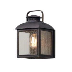 Chamberlain Vintage Bronze One-Light Outdoor Wall Lantern