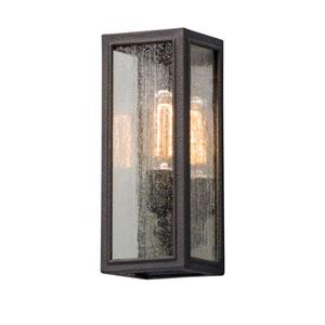 Dixon Vintage Bronze 5-Inch One-Light Outdoor Wall Lantern