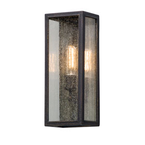 Dixon Vintage Bronze 6.5-Inch One-Light Outdoor Wall Lantern