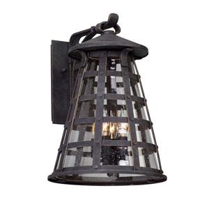 Benjamin Vintage Iron Four-Light Outdoor Wall Lantern