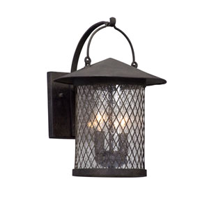 Altamont French Iron Two-Light Outdoor Wall Lantern