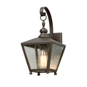Mumford Bronze One-Light Outdoor Wall Lantern