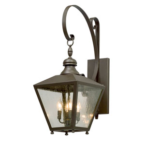 Mumford Bronze Four-Light Outdoor Wall Lantern