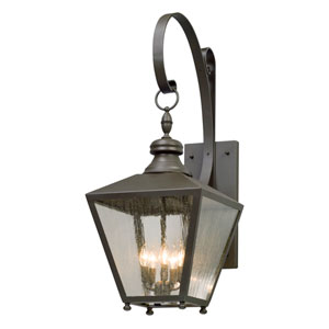 Mumford Bronze Five-Light Outdoor Wall Lantern
