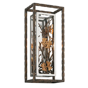 Chrysalis Cottage Bronze One-Light Wall Sconce
