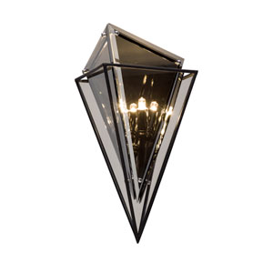 Epic Forged Iron Two-Light Wall Sconce