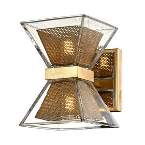 Expression Gold Leaf Two-Light LED Bath Vanity
