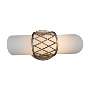 Hideaway Champagne Leaf Five-Inch LED Wall Sconce