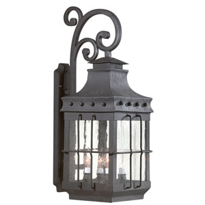 Dover Four-Light Outdoor Wall Mount