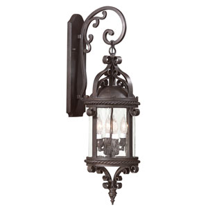 Pamplona Four-Light Outdoor Wall Mount