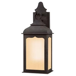 Williamsburg® Henry Street Fluorescent Charred Iron Exterior Pocket Light