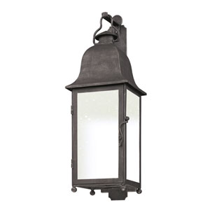 Aged Pewter Larchmont Medium One-Light Fluorescent Wall Mount