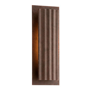 Dwell Country Rust One-Light Large LED Wall Sconce