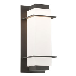 Paradox Bronze One-Light Six-Inch LED Outdoor Wall Sconce