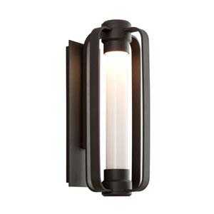 Verve Coastal Bronze 8.5-Inch One-Light Outdoor LED Wall Lantern