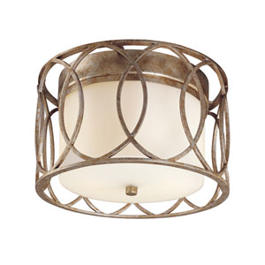 Sausalito Two-Light Flush Mount