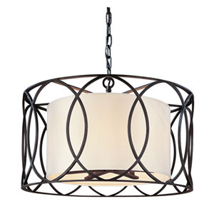 Sausalito Deep Bronze Five-Light Pendant