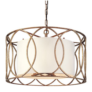 Sausalito Five-Light Drum Pendant