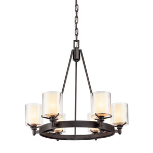 Arcadia Six-Light Chandelier