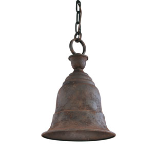 Liberty Centennial Rust One-Light Dark Sky Outdoor Medium Pendant