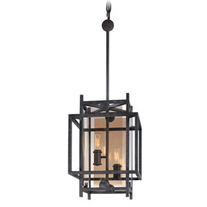 Crosby French Iron Two-Light Pendant