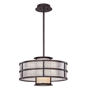 Discus Graphite One-Light 18-Inch Convertible Pendant