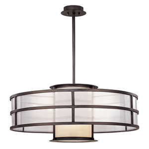 Discus Graphite Two-Light 32-Inch Convertible Pendant