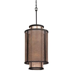Bronze Copper Mountain 18-Inch 8-Light Drum Pendant