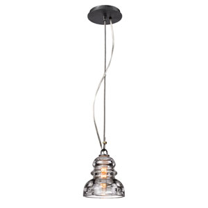 Old Silver Menlo Park One-Light Mini Pendant