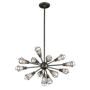 Conduit Old Silver 13 Light Large Pendant