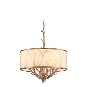 Whitman Vienna Bronze Four Light Pendant