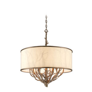 Whitman Vienna Bronze Eight Light Pendant