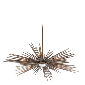 Blink Light Cottage Bronze Six Light Pendant