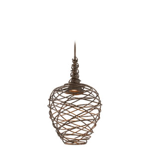 Sanctuary Cottage Bronze 20-Inch Wide LED One Light Pendant