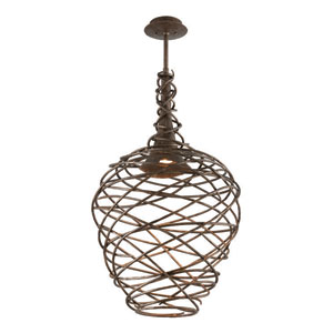 Sanctuary Cottage Bronze LED One Light Pendant