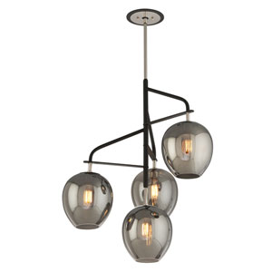 Odyssey Carbide Black Four-Light Twenty-Nine-Inch Chandelier