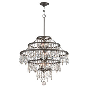 Meritage Graphite Nine-Light Chandelier