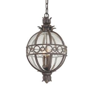 Campanile  Bronze Four-Light Outdoor Hanging Lantern