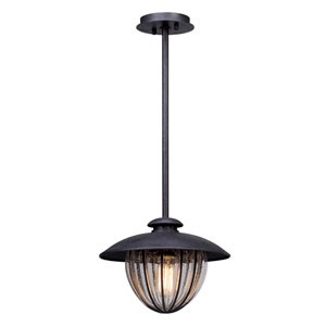 Murphy Vintage Bronze 13-Inch One-Light Outdoor Pendant