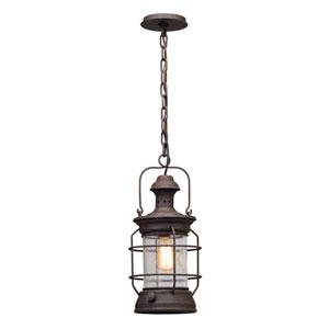 Atkins Centennial Rust One-Light Outdoor Pendant