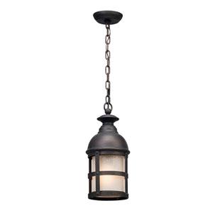 Webster Vintage Bronze One-Light Outdoor LED Pendant