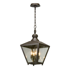 Mumford Bronze Four-Light Outdoor Pendant