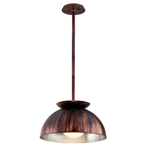 Library Copper Patina 20.5-Inch One-Light Pendant