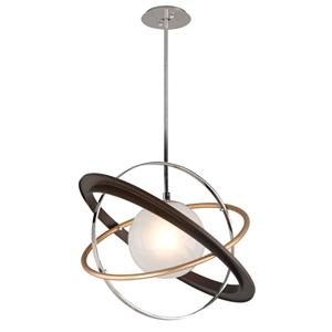 Apogee Bronze LED 24-Inch Globe Pendant