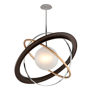 Apogee Bronze LED 40-Inch Globe Pendant